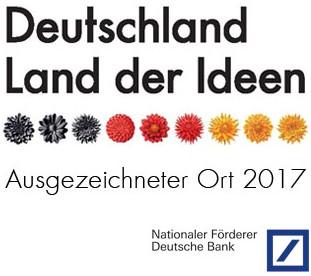 Ausgezeichnete Orte im Land der Ideen: www.Richter-im-Internet.de 2017